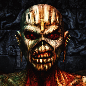 3D Eddie from Iron Maiden