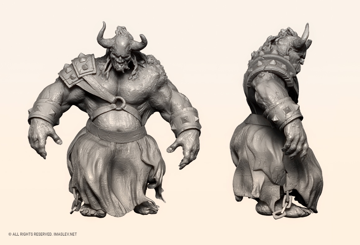 3D ZBrush sculpting