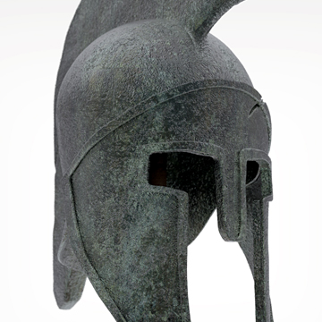 3D Greek Helmet