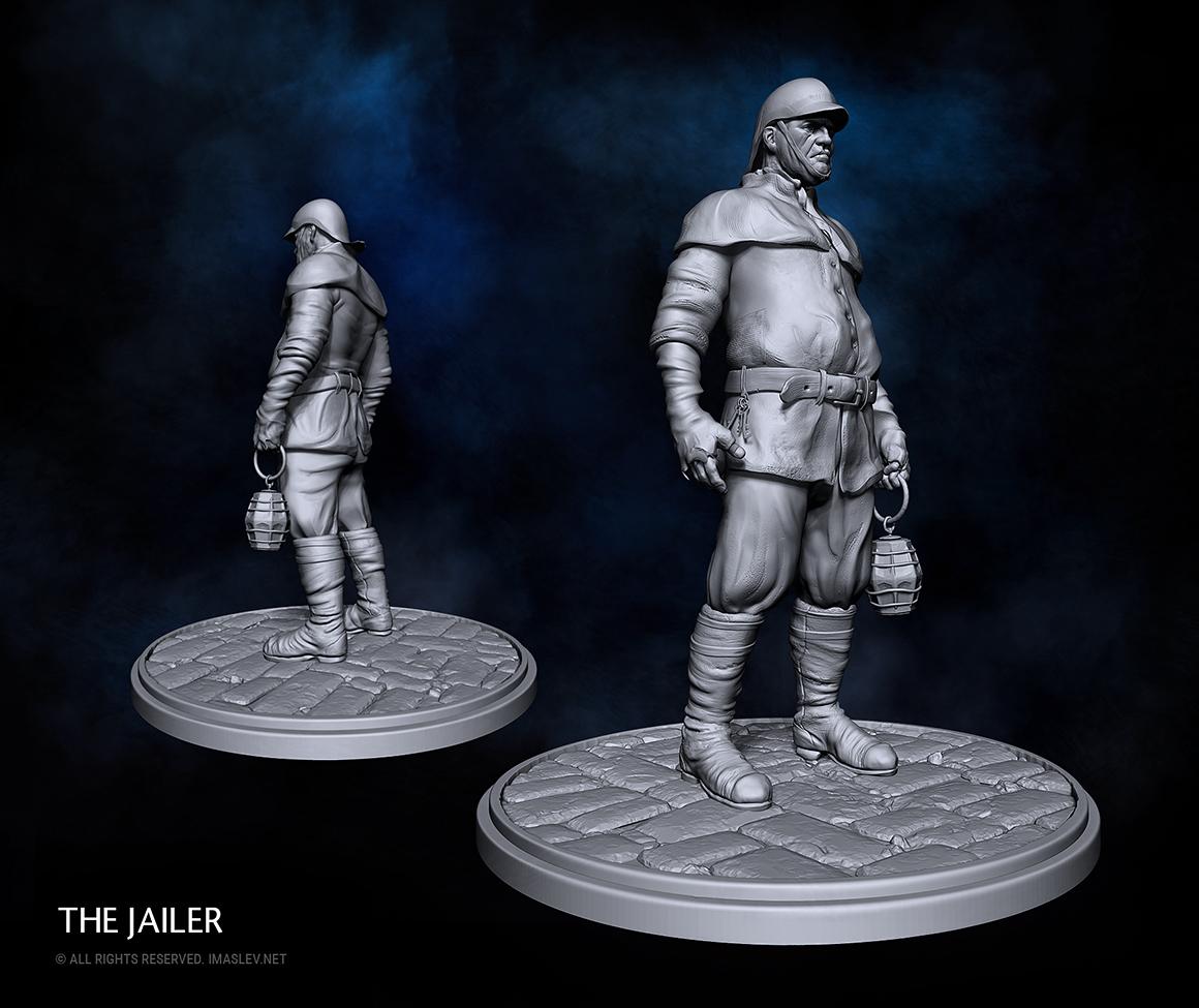 The Jailer - 3D model
