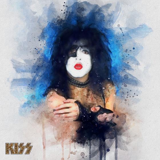 KISS Paul Poster