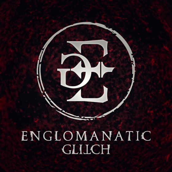 Englomanatic Glitch Logo Art