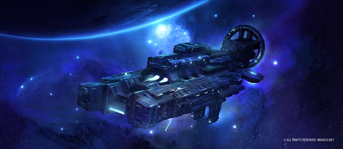 Space Ship 3D