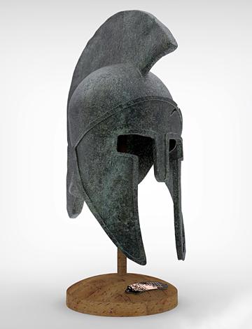 ANCIENT GREEK HELMET
