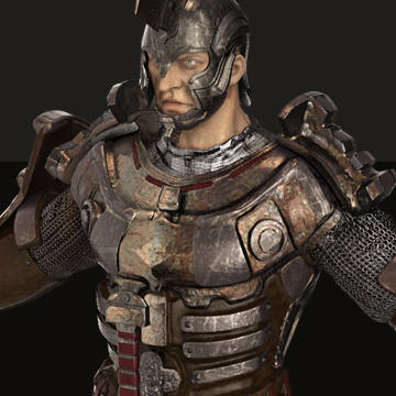 3D Warrior