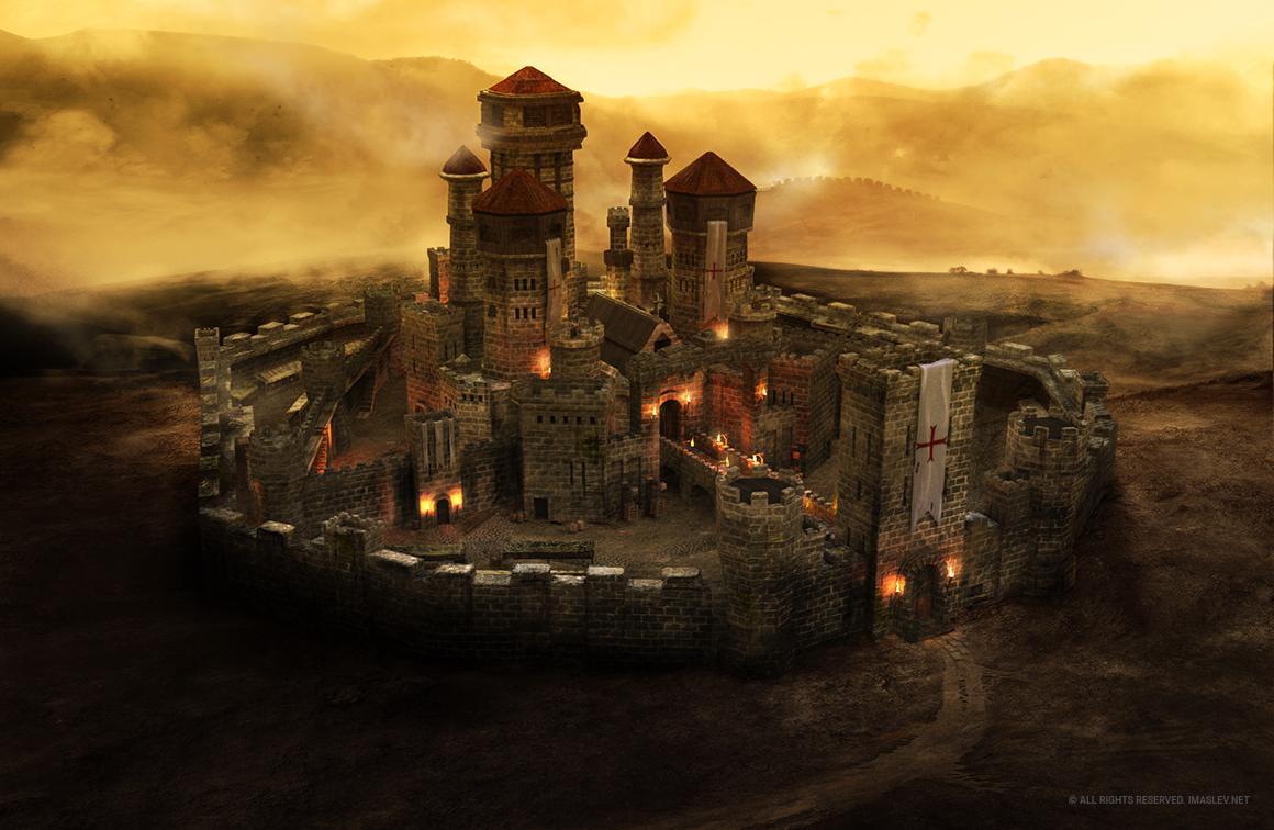 Warwick Castle 3D Zbrush