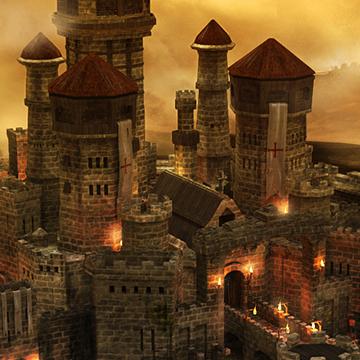 Warwick Castle - 3D Model