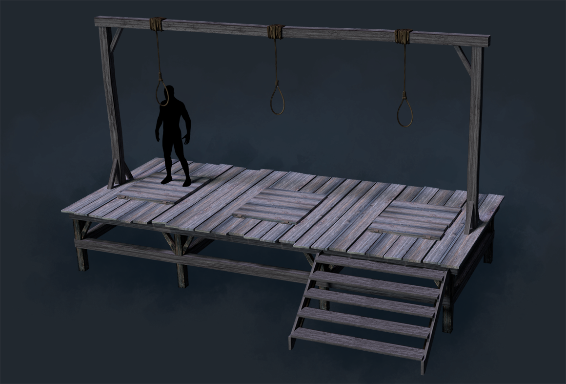 gallows 3D
