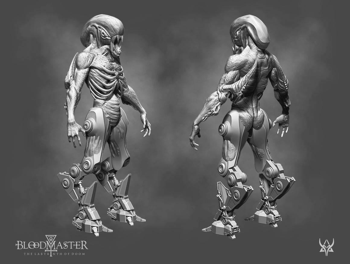 3D Creature - Concept Art
