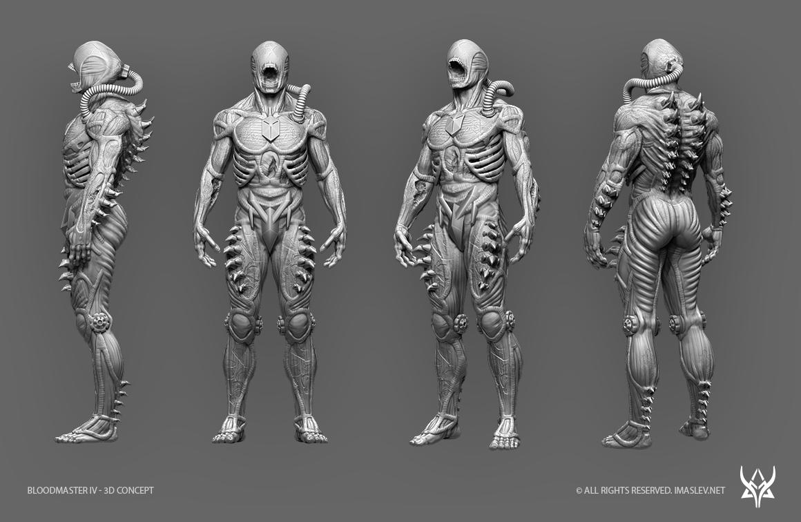 Bloodmaster IV - 3D Concept