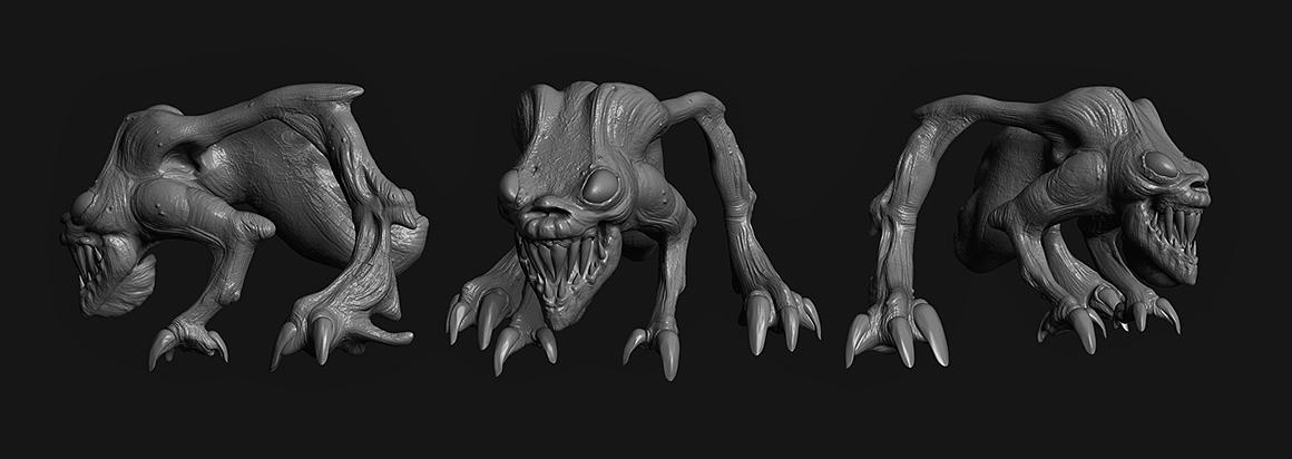 Creature 3D Concept