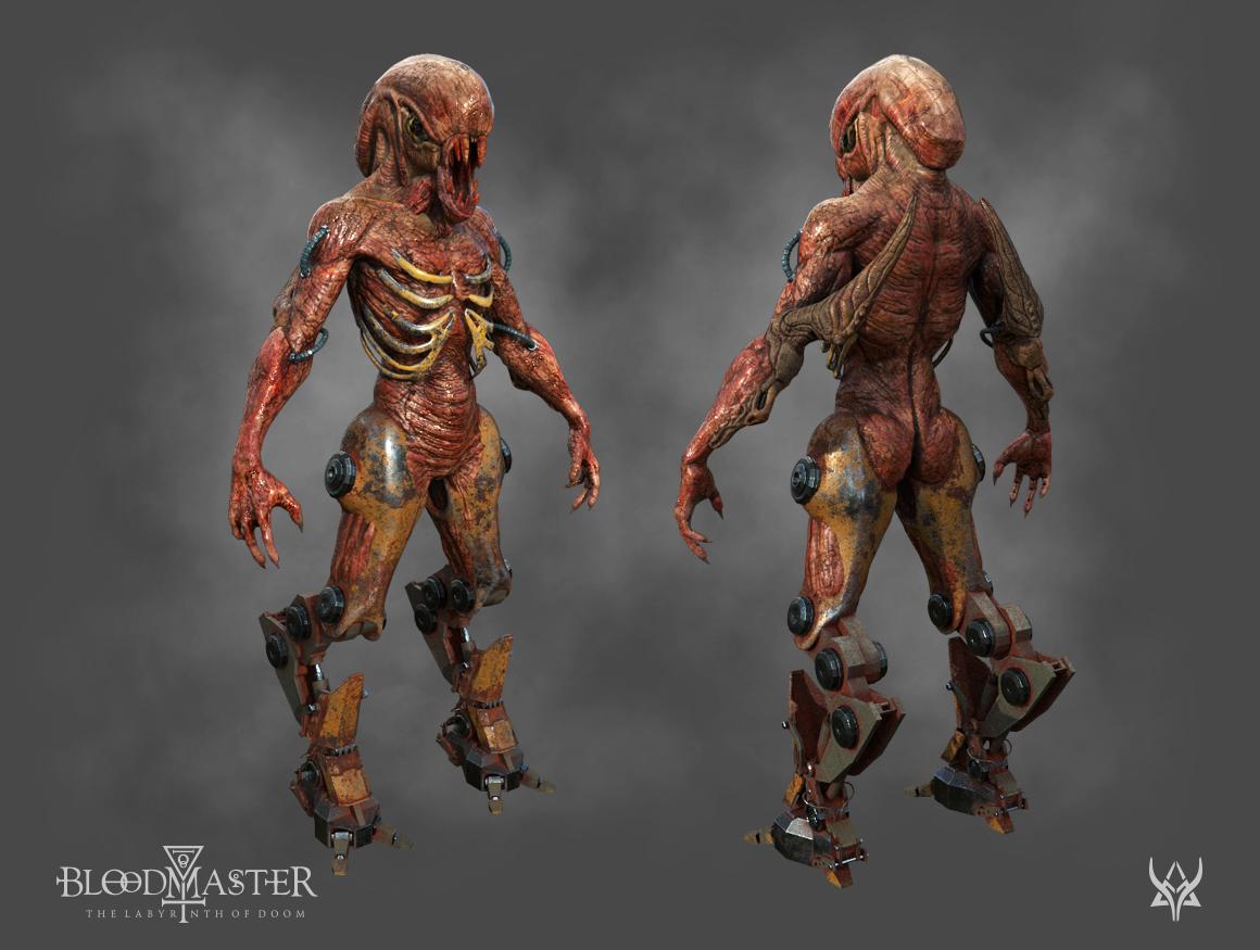 Bloodmaster Creature 3D model