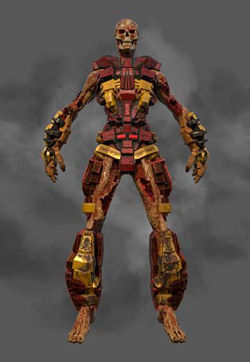 Doom Inspired 3D Model