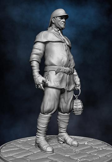 Jailer 3D Character