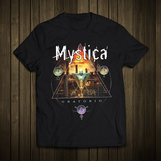 Mystica T-shirt Album Cover