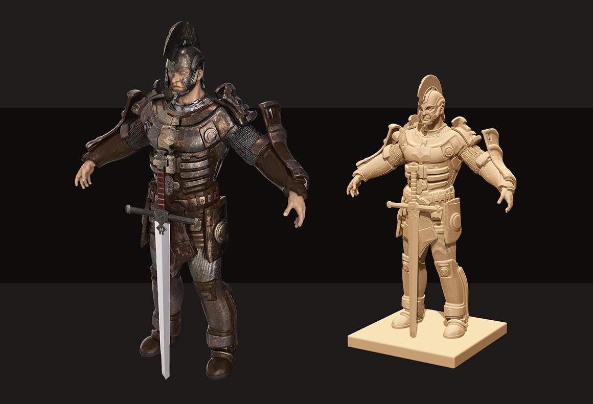 Warrior 3D Concept