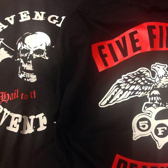 FFDP & A7X t-shirts