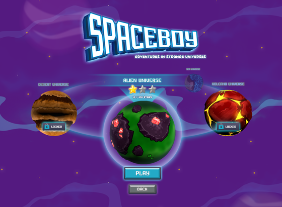 SpaceBoy Worldmap